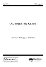 O Domine Jesu Christe
