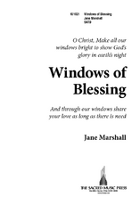 Windows of Blessing
