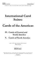 International Carol Suites: Carols of the Americas - Orchestra Score