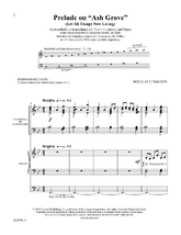 "Prelude on ""Ash Grove"" - Organ and HB/HC Score"