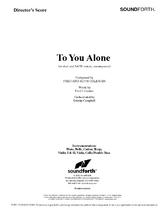 To You Alone - Orchestral Score and Parts