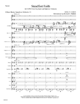 Steadfast Faith - Orchestral Score and Parts
