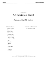 Fantasia on a Ukrainian Carol - Orch