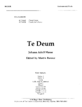 Te Deum - Instrumental Parts