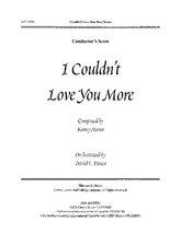 I Couldn't Love You More - Inst Parts