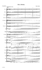 Hineni Muchan - Orch Score and Parts