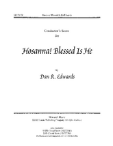 Hosanna, Blessed Is He - Full Score and Parts