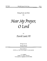 Hear My Prayer, O Lord!- String Score and Parts