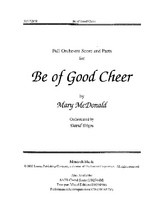 Be of Good Cheer - Full Score and Parts