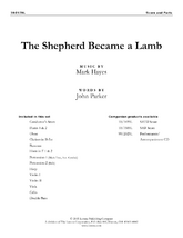 The Shepherd Became a Lamb - Orchestra Score/Parts