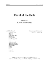 Carol of the Bells - Orchestral Score and Parts