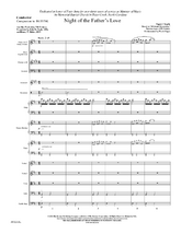 Night of the Father's Love - Orchestral Score and Parts