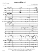 Once and For All - Orchestral Score and Parts