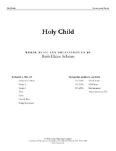 Holy Child - String Orchestra Score and Parts