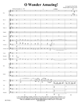 O Wonder Amazing! - Orchestral Score and Parts