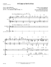 O Come to Set Us Free - Rhythm Score and Parts