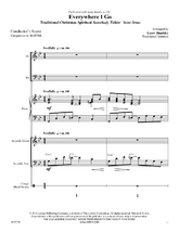 Everywhere I Go - Instrumental Ensemble Score and Parts