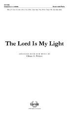 The Lord Is My Light - Orchestral Score and Parts