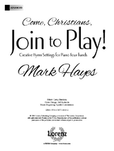 Come, Christians, Join to Play!