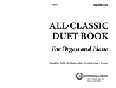 All Classic Duet Book for Organ and Piano, No. 2