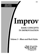 Improv, Vol. 3 - Blues and Rock Styles